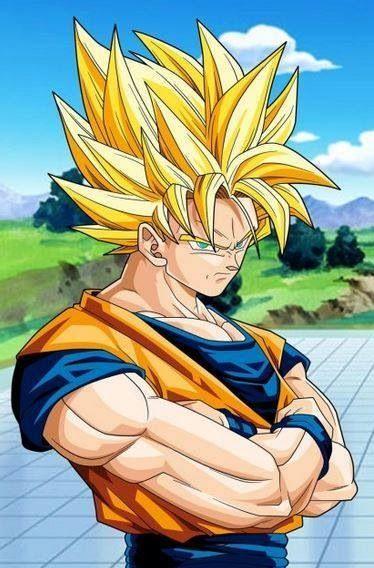 Este Goku me ha gustado por la expresión y el pelo, el SSJ 2 le favorece a todo el mundo joder