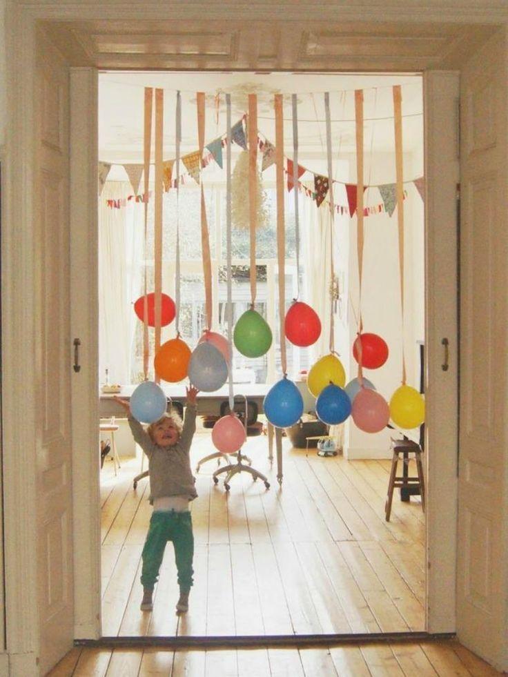 Como decorar con globos   Decorar tu casa es facilisimo.com