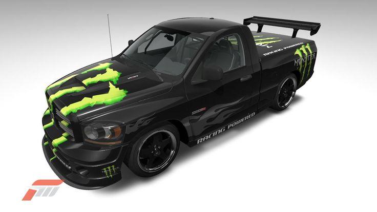 Dodge Ram SRT-10 de Pika78 dans la vitrine de Forza Motorsport 3