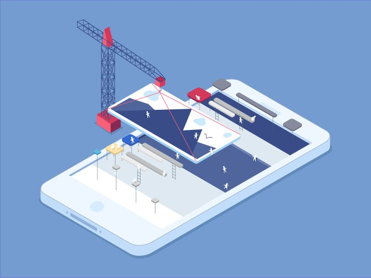 Hi everyone! It's Wednesday, a beautiful day to post some beautiful things, don't you think? Here is an illustration about an iphone construction for our upcoming iOS app mobile release! I couldn...
