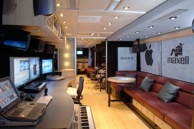 photos of tour bus interiors | bus interior 300x199 The John Lennon Tour Bus