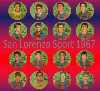 Figuritas Sport 1967 - San Lorenzo