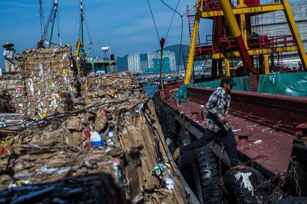 China Limits Waste. Cardboard Grannies and Texas Recyclers Scramble.