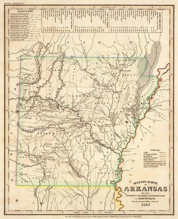 Best Vintage Maps Images On Pinterest Vintage Maps Gift - North america historical map 1845