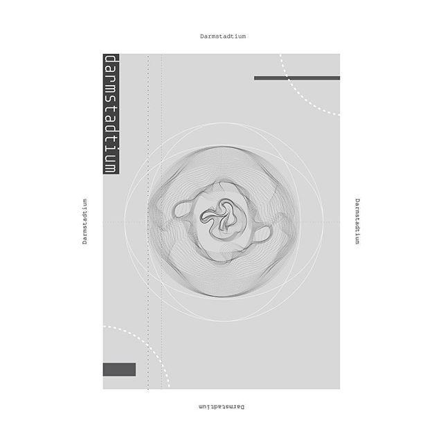 Darmstadtium #design #graphicdesign #poster#posters #metals #darmstadtium #chemicalelements #art