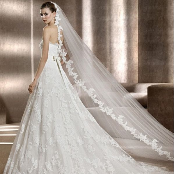 wedding veils -