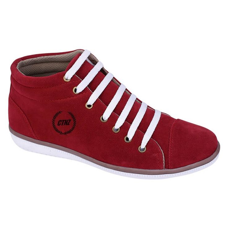 Sepatu Sneakers / Kets / Casual Pria - WR 014. Produk fashion handmade asal Bandung dengan bahan nyaman digunakan, desain trendy dan tidak pasaran. Membuat tampil percaya diri.  Detail Produk:   Ukuran: 39 - 43  Bahan: SYNTHETIC - TPR  Warna: MERAH  Yuk di order, belanja lebih hemat.   #Catenzo #Sepatu Olahraga