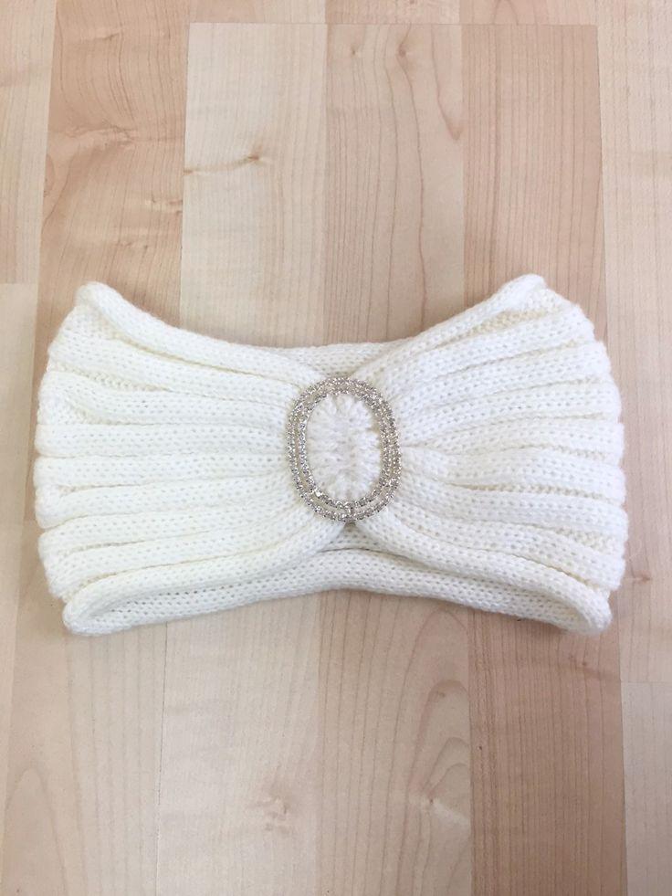 Brighton Headband- White