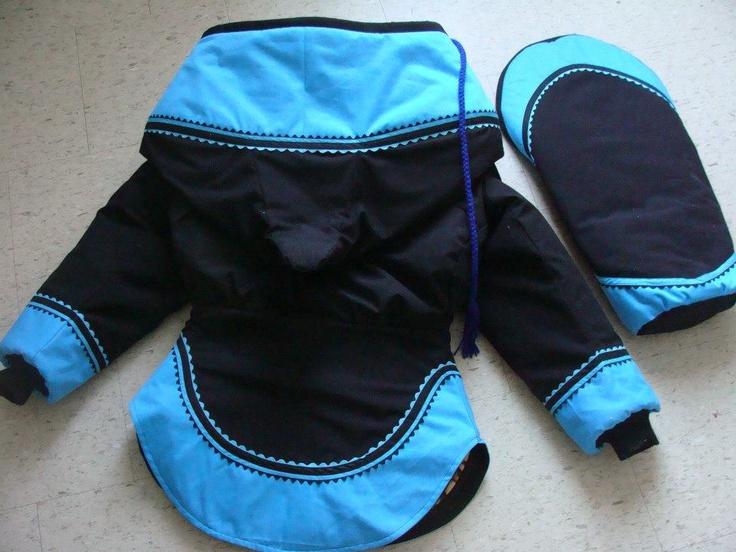 Amautiq / matching baby bunting bag (backs) by Denise Autut