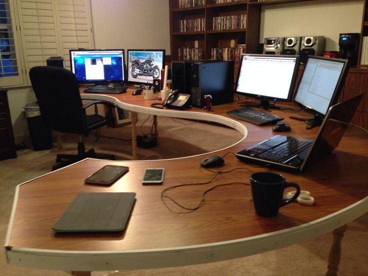 Best Floating Computer Desk Ideas On Pinterest Computer Desk - Build corner computer desk