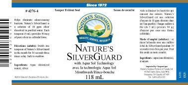 Silver Guard (mouthwash, 118 mL) – My Sunshine Canada