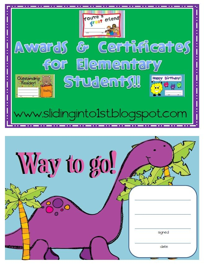 Classroom Ideas Awards : Classroom awards certificates freebies
