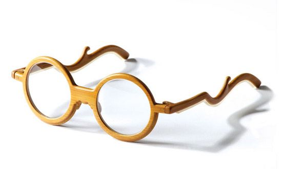 'ming' bamboo glasses by chinese designer chen chun-hao & bamboo artist huang to-en for yii collection.