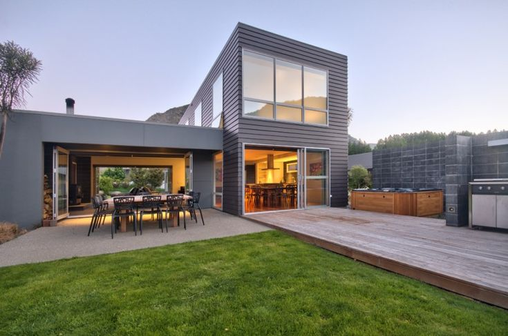 Luxury Holiday House, Queenstown, Modern Family, New Zealand, Villa, Apartment