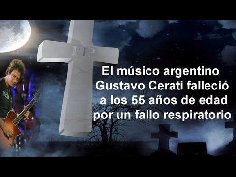 Muerte de famosos Gustavo Cerati