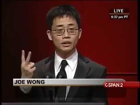 Joe Wong at RTCA Dinner (with transcript)