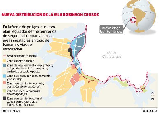 A mediadios de julio se aplicará nuevo plan regulador de #JuanFernández que reduce la zona habitable. #Chile julio 2013