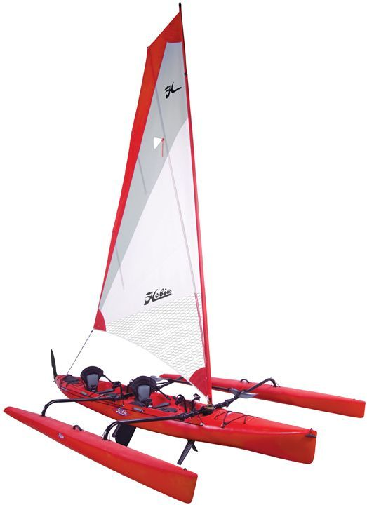 New 2013 Hobie Cat Boats Mirage Tandem Island Multi-Hull.....kayak with pedal drive system, sailboat, and optional electric motor drive.........3 boats in one!!!!!!!! I want one!!!