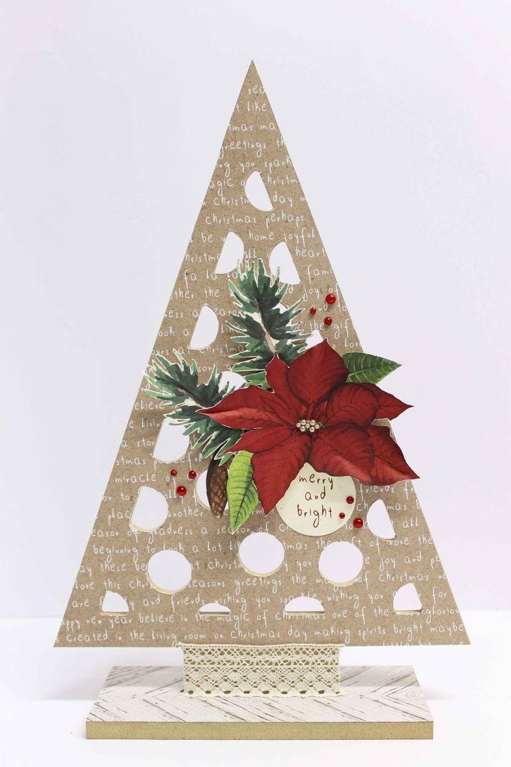 Anita Bownds: Kaisercraft Home for Christmas decor