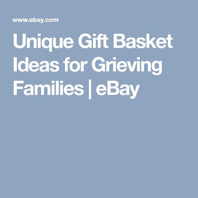 Unique Gift Basket Ideas for Grieving Families | eBay