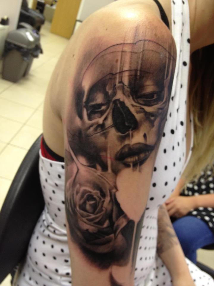 Face Sleeve Tattoo: 26 Best Shoulder Tattoos Images On Pinterest