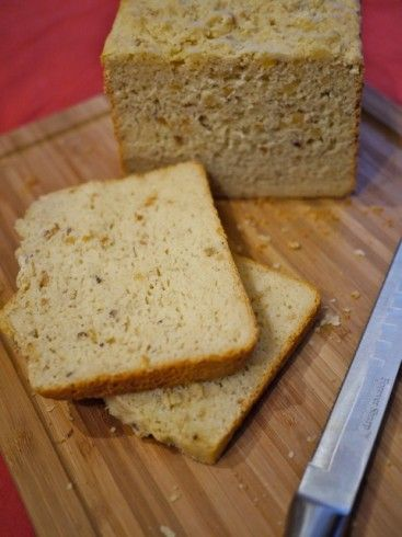 GF Hazlenut bread - recipe for Cuisinart bread maker