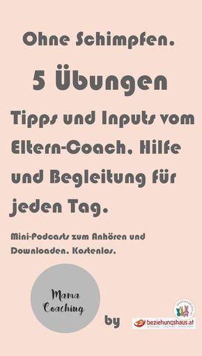 Mama-Coaching. Inputs und Tipps für die Erziehung, Familienleben und Alltag. Erklärt vom Eltern-Coach. Kostenlos zum Anhören und Downloaden. Empfohlen von Jesper JUUL.