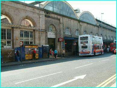 Paragon Station and The Blue Box