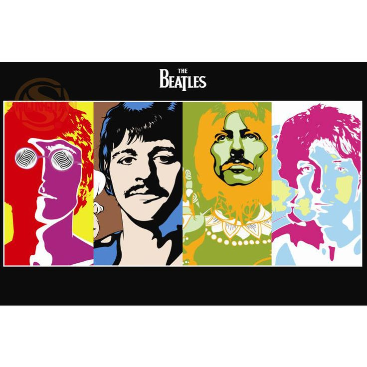 Custom New Arrival The Beatles Poster Home Decor modern Wall Sticker For Bedroom Wall Poster YF-&21