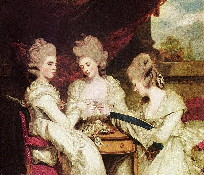 Joshua Reynolds (English Rococo Era Painter, 1723-1792)
