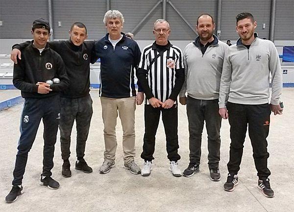 """""""Championnat doublette seniors des Alpes-Maritimes, le podium"""" - Lire"""