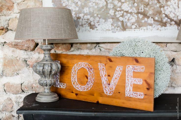 DIY, LOVE, mariage aux domaines de Patras dans la drome.