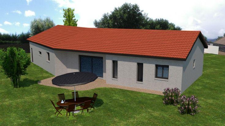 Maisons plain pied 4 chambres de 110 m² construite par Demeures Familiales