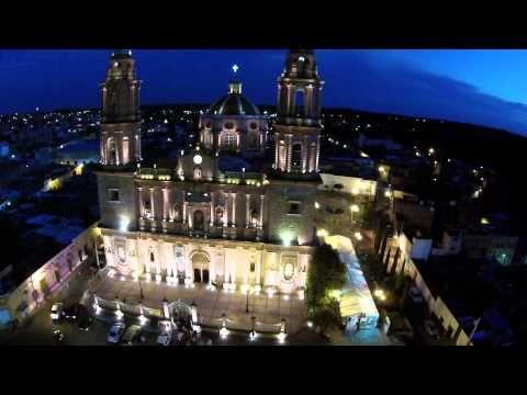 Un recorrido de Teocaltiche con Musica de Mariachi - YouTube