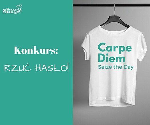 Na naszym facebookowym profilu #konkurs!  Rzuć hasło i wygraj koszulkę! ;-) Szczegóły w linku w bio! #tshirt #znadrukiem #rzuchaslo #wygraj #stimago #stimagopl