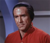 """Khan Noonien Singh"" (""The Space Seed""-Original Series ; Star Trek II: The Wrath of Khan) Ricardo Montalban"