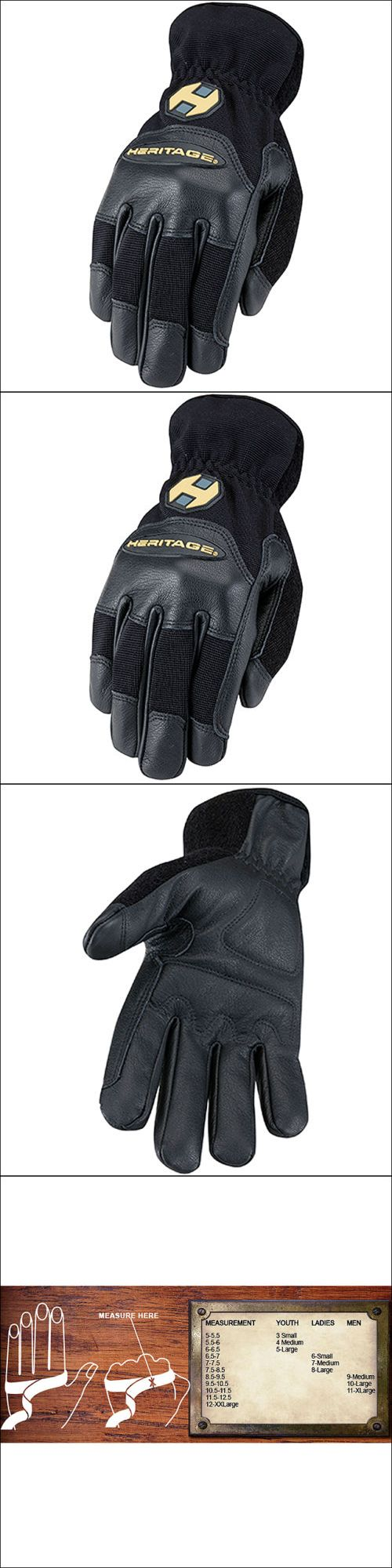 Ladies leather horse riding gloves - Riding Gloves 95104 9 Size Heritage Trainer Horse Riding Stretchable Goatskin Leather Gloves Black