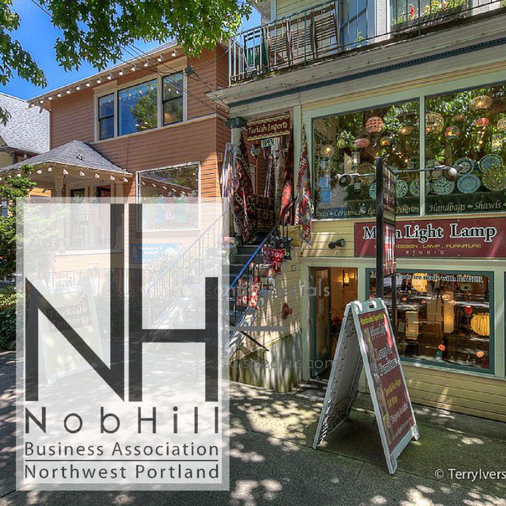 Nob Hill Neighborhood in Portland, OR