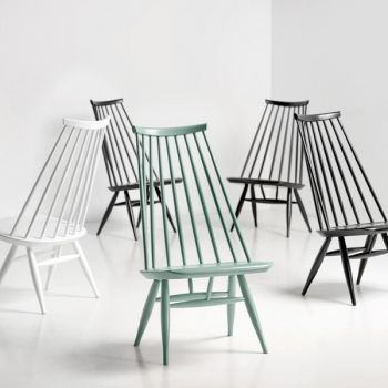 Mademoiselle chairs by Artek.