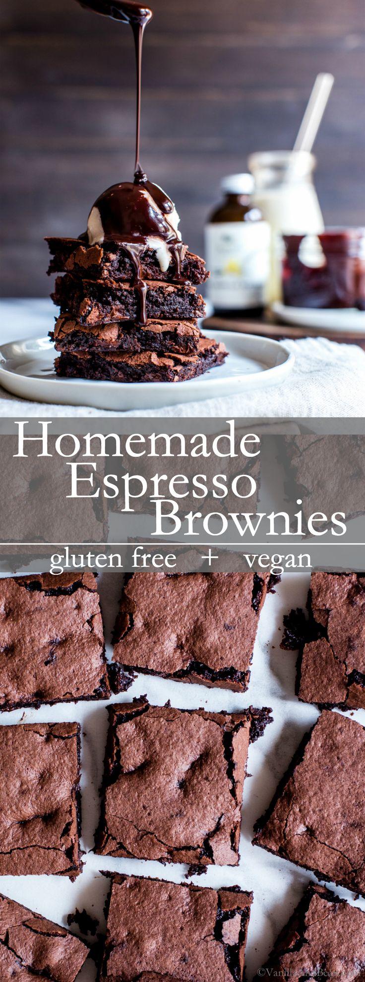 Like a chocolate truffle in brownie form, Homemade…