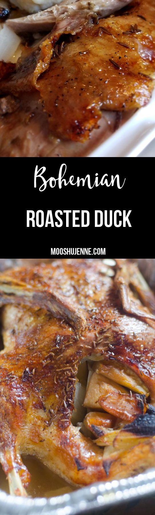 Bohemian Roasted Duck