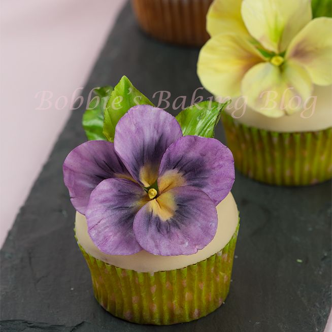 How to Create Sugar Paste Pansy It's an odd site, but the basics are there.