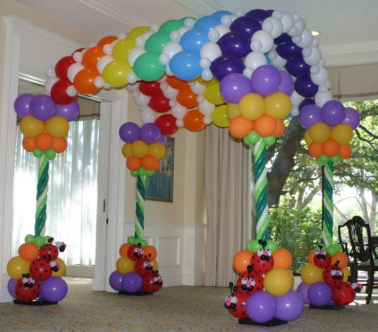 336 best Balloon Arches Entrances images on Pinterest Balloon