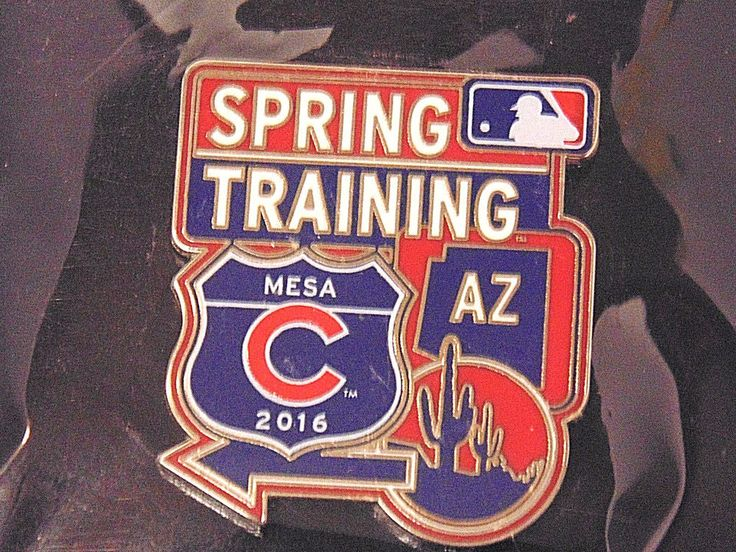 Spring Training Chicago Cubs Baseball 2016 Lapel Pin #MajorLeagueBaseballProperties