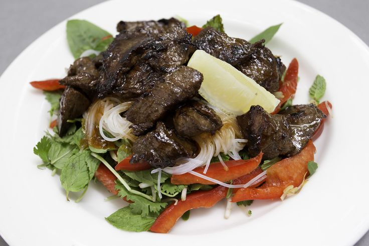 Beef Salad  at Cruisers Cafe Bar and Grill, Portside Wharf, Brisbane  www.cruiserscafebargrill.com.au   https://www.facebook.com/CruisersCafeBarandGrill