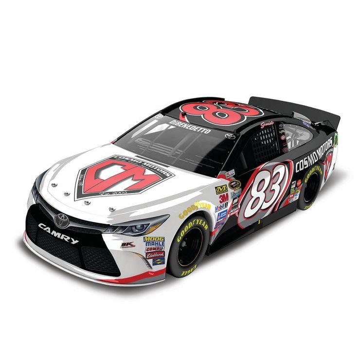 Matt DiBenedetto Action Racing 2016 #83 Cosmo Motors 1:24 NASCAR Sprint Cup Series Gold Die-Cast Toyota Camry