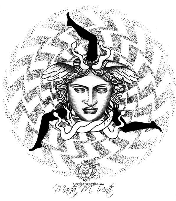 TRINACRIA - disegno creato da Marta, per IDEA TATTOO MAGAZINE come omaggio alla TATTOO EXPO' di Palermo 2014 follow me also on  facebook.com/antikapratika