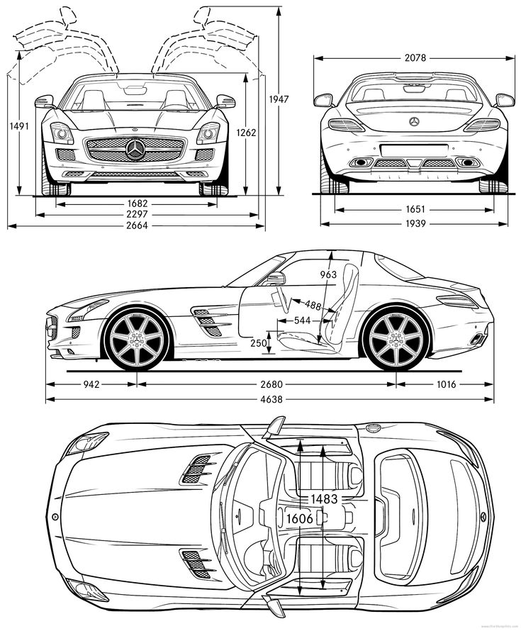 36 best Blueprints images on Pinterest | Technical drawing ...
