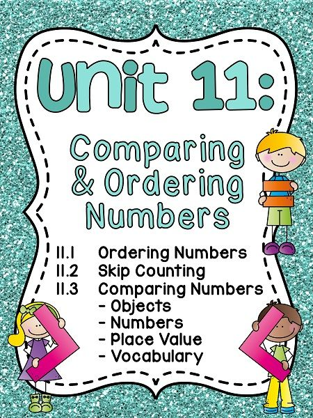 70 best Comparing and Ordering Numbers Activities for First Grade ...