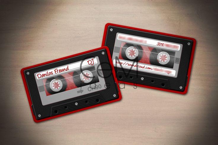 #tapecassette #visitcard
